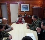 Autoridades del Ejército de Chile y Alcaldesa Lazcano logran importantes acuerdos para reubicar Museo Histórico  de la Carretera austral.