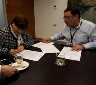 Alcaldes de Lo Barnechea y Chaitén firman importante convenio de colaboración